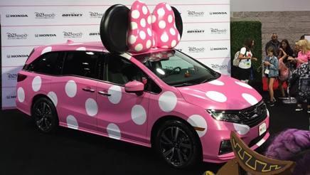 La Honda Odyssey dedicata a Minnie