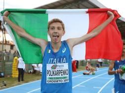 Sergiy Polikarpenko, 19 anni, nato in Ucraina ma cresciuto in Piemonte. GIANCARLO COLOMBO