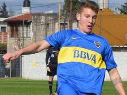 Facundo Colidio, attaccante classe 2000 del Boca Juniors