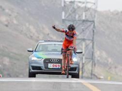 Il trionfo di Damiano Cunego al Qinghai Lake