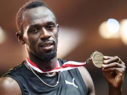 Usain Bolt, 30 anni. Afp