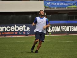 Antonio Cassano, 35 anni, non è bastato all'Hellas per battere il Trapani a Primiero. LaPresse