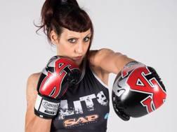 Cristina Caruso, 30, atleta femminile di punta del team Sap Fighting Style