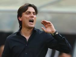 Vincenzo Montella, 43 anni, allenatore del Milan. Getty Images