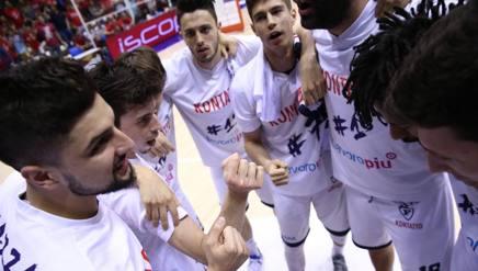 La Fortitudo nei playoff contro Trieste CIAMILLO