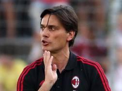 Vincenzo Montella, sesto con i rossoneri la scorsa stagione. ANSA