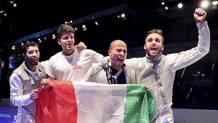 Giorgio Avola, Andrea Cassarà, Alessio Foconi e Daniele Garozzo BIZZI