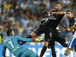 Mateo Musacchio nell'azione del gol. LaPresse