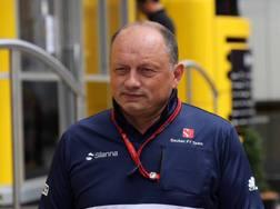 Frederic Vasseur, team principal della Sauber. Lapresse