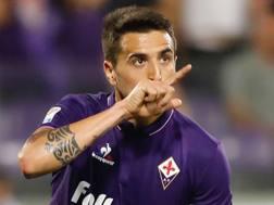 Matías Vecino Falero, 25 anni, centrocampista uruguaiano della Fiorentina. LaPresse