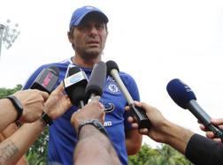 Antonio Conte, campione d'Inghilterra con il Chelsea. Getty