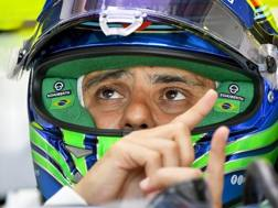 Felipe Massa, 36 anni. Epa