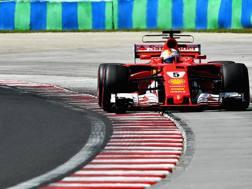 Sebastian Vettel, pole numero 48 in carriera. Getty