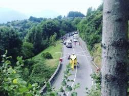 Il luogo dell'incidente (Instagram)