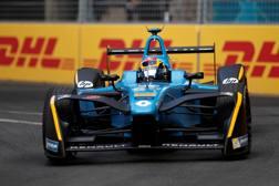 Sebastien Buemi sulla Renault e.dams di F.E. Reuters