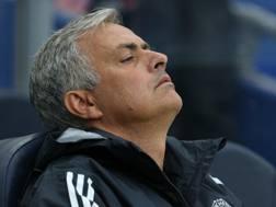 José Mourinho, tecnico dello United. Getty