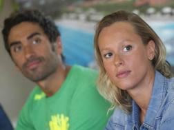 Filippo Magnini e Federica Pellegrini. Italy Photo Press
