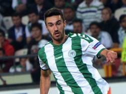 Riad Bajic , 23 anni, attaccante bosniaco. Afp