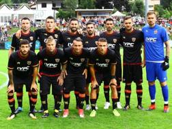 La formazione del Benevento contro l'Eintracht. LaPresse