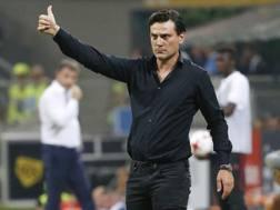 Vincenzo Montella, 43 anni, seconda stagione al Milan. Ap