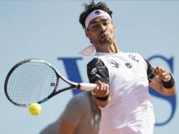 Fabio Fognini, 30 anni, ha raggiunto la semifinale a Kitzbuhel AP