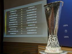 Il tabellone dei playoff di Europa League. Ap