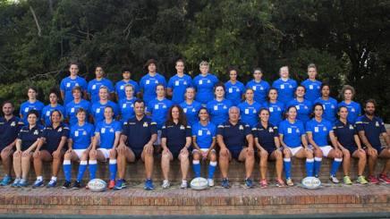 Il gruppo azzurro per il Mondiale FAMA