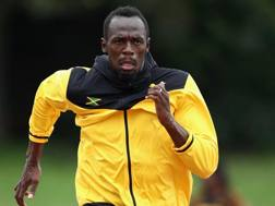 Usain Bolt, 30 anni GETTY