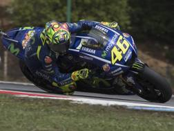 Valentino Rossi. Getty