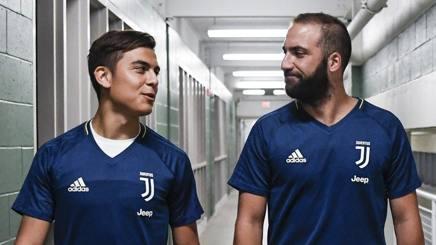 Paulo Dybala e Gonzalo Higuain. stelle argentine della Juve. Getty