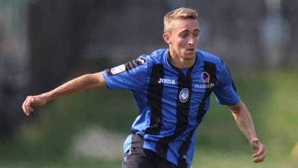 Timothy Castagne, nuovo esterno destro dell'Atalanta. Lapresse