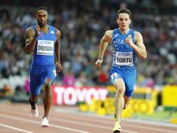 Filippo Tortu, 19 anni, campione europeo juniores. Reuters