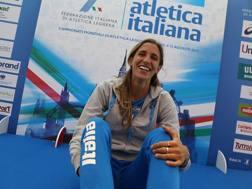 Alessia Trost, 24 anni, è stata campionessa del mondo da allieva e da juniores. Colombo