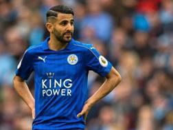 Ryad Mahrez, 26 anni, centrocampista algerino del Leicester. Epa