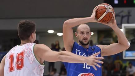 Marco Cusin, 32 anni, centro da poco passato all'EA7 Milano CIAMILLO