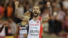 Lo sprint vincente di Ramil Guliyev. Ap