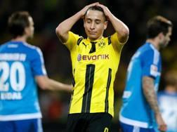 Emre Mor, 20 anni, con la maglia del Borussia Dortmund.
