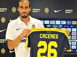 Martin Caceres, 30 anni. Foto www.hellasverona.it
