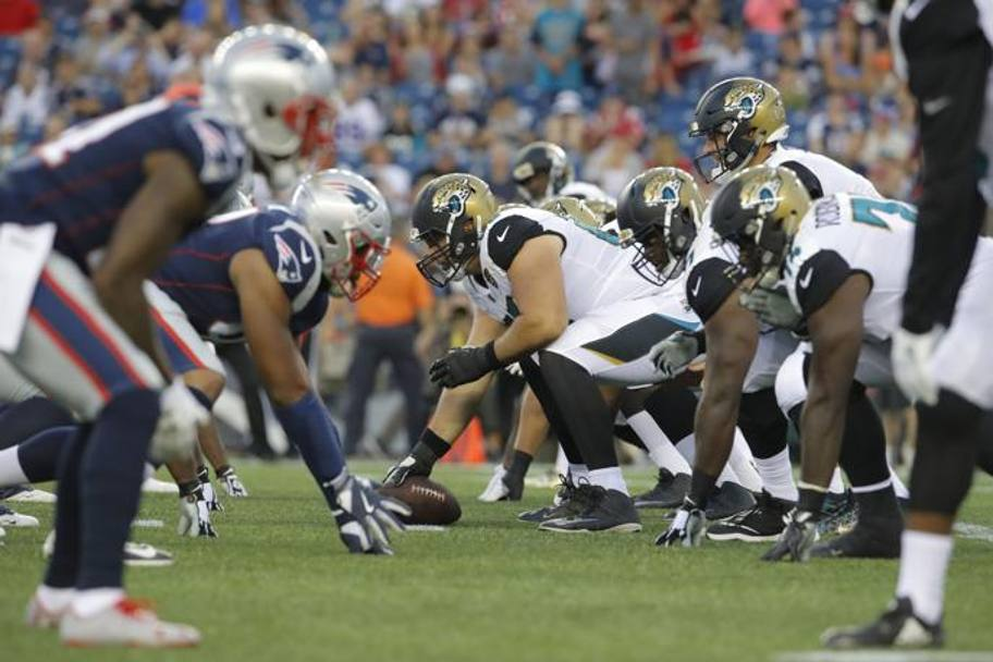 Foxborough (Massachusetts): New England Patriots-Jacksonville Jaguars. (Reuters)
