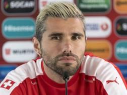 Valon Behrami, 32 anni, centrocampista Watford . EPA