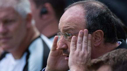 Rafa Benitez, manager del Newcastle United. Epa