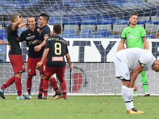 La gioia di Laxalt dopo il gol. LaPresse