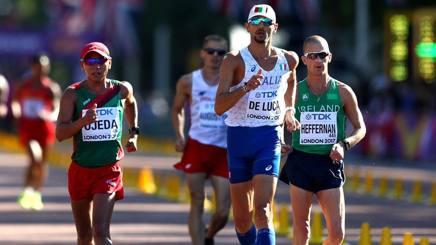 Marco De Luca, 9° nella 50 km. Getty Images
