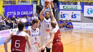Marco Belinelli al tiro. CiamCast