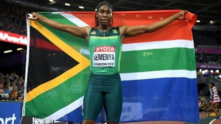Caster Semenya, 26 anni. Getty