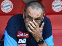 Maurizio Sarri, 58 anni. Ansa