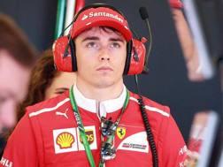 Il monegasco Charles Leclerc, prodotto della Ferrari Driver Academy. LaPresse