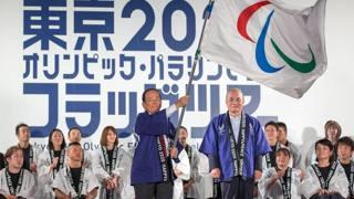 Il Ceo dei Giochi Toshiro Muto in un evento di promozione verso il 2020. Epa