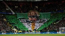 Splendida coreografia a Celtic Park. Action Images