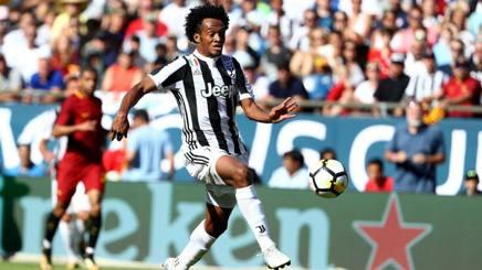 Juan Cuadrado, 29 anni, centrocampista Juventus. REUTERS